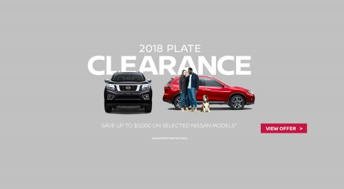 Nissan_2018_Plate_Clearance_penrith